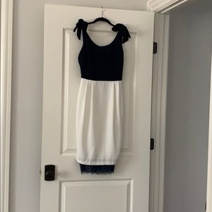 NWT ASOS blue and white dress size US 4